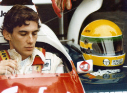 Strapped in the Seat of Senna
