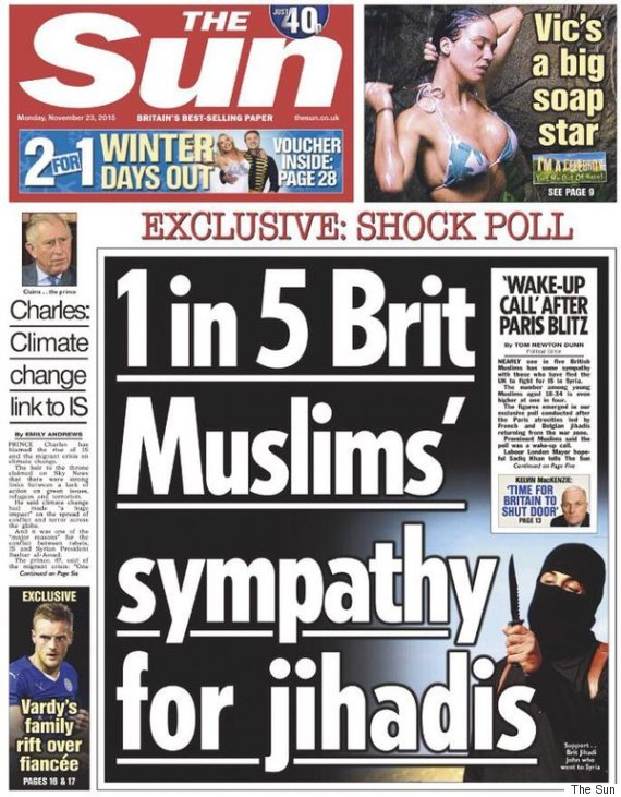 the sun front muslims