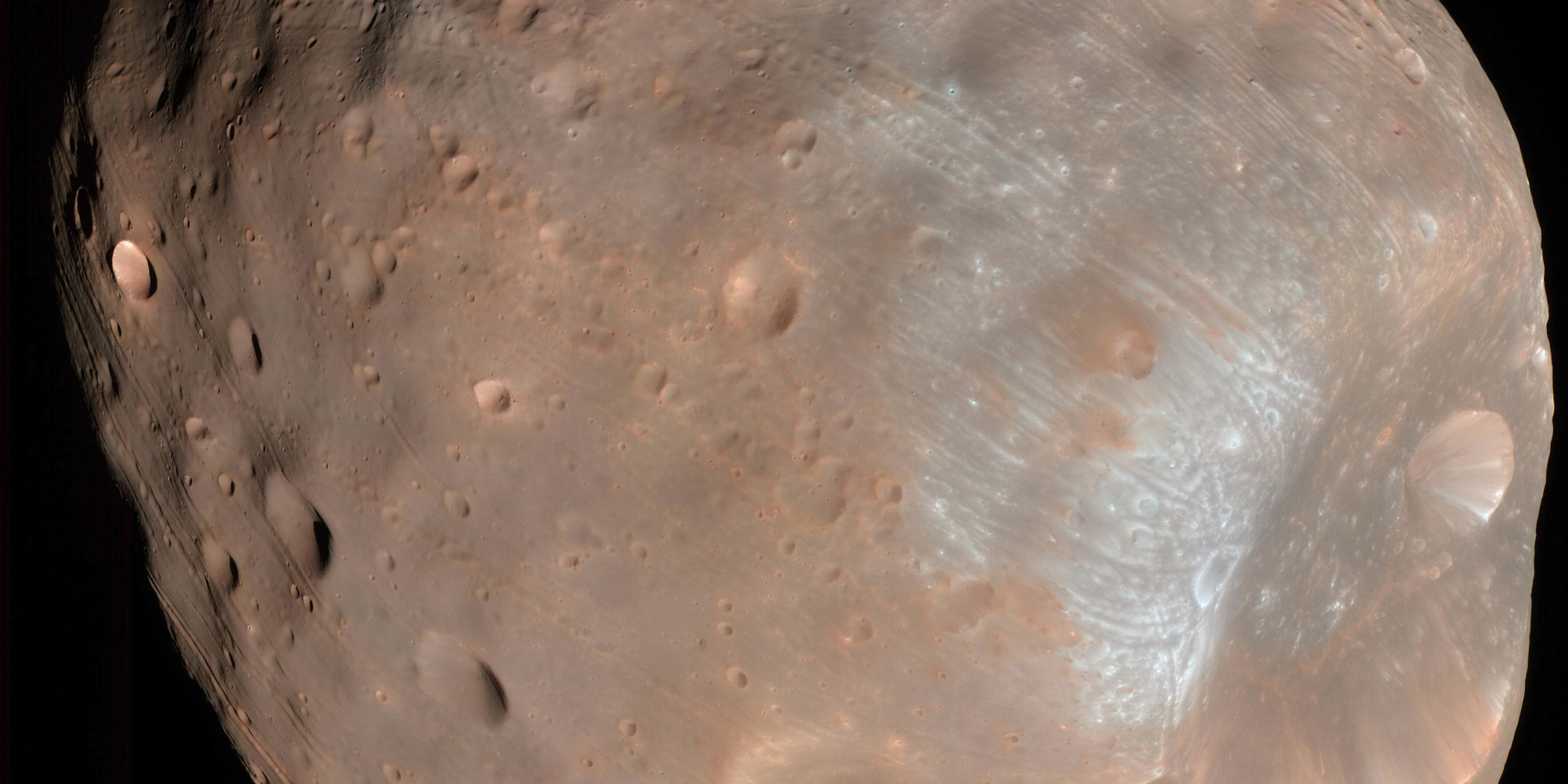 Mars To Become A Ringed Planet Made Up Of Dead Moon Phobos ...