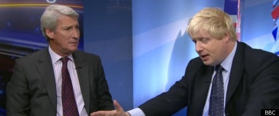 Boris Johnson Jeremy Paxman