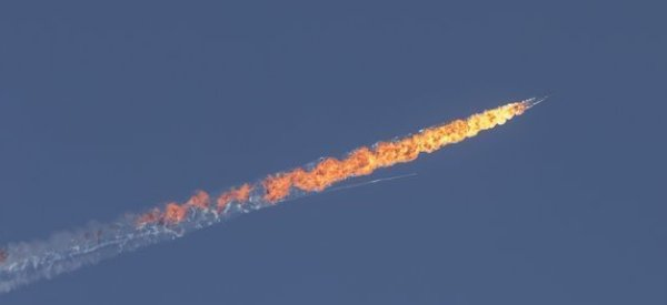 russian military jet shot down