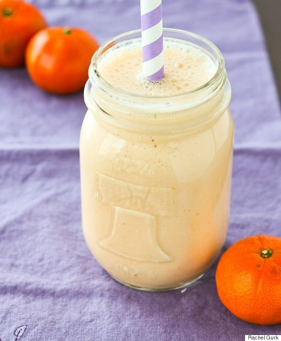 clementine vanilla smoothie