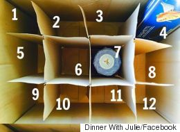Empty Wine Boxes Turn Into 'Advent Calendar' For Those In Need