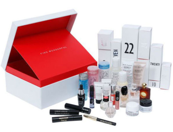 myer beauty box advent calendar