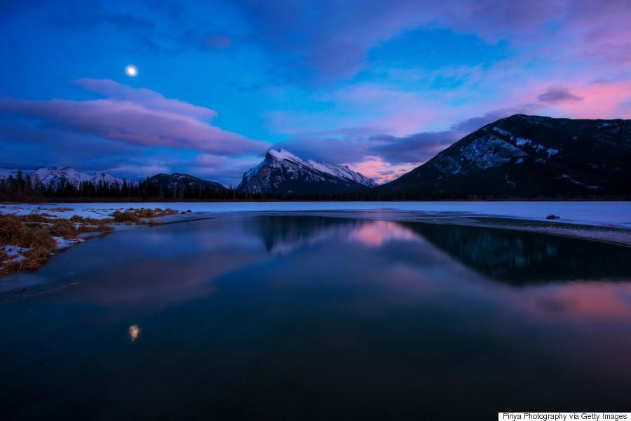 winter canada landscape