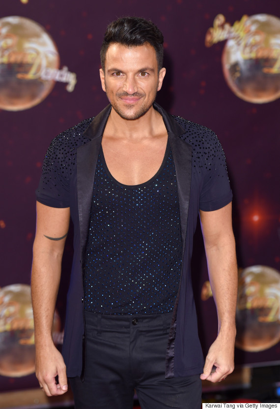 peter andre strictly