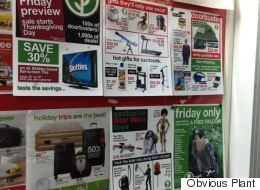 Prankster Leaves Hilarious Fake Black Friday Deals In Supermarket