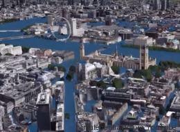 Ce que pourrait donner la montée des eaux dans les grandes villes du monde (VIDÉOS)