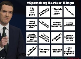 It's Spending Review Bingo Time!