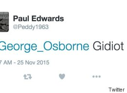 15 Devastatingly Scathing Responses To George Osborne's Spending Review Tweet