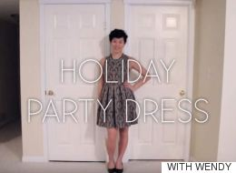 A One Of A Kind Holiday Party Dress You Can Make Yourself