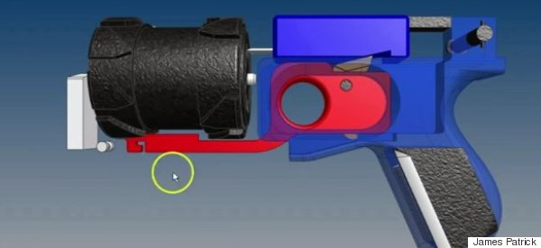A Student's Just Designed A Gun You Can Print Out At Home - And It Shoots Real Bullets