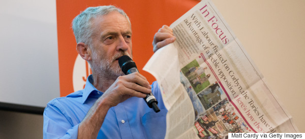 Britain's Newspapers 'Systematically Undermined' Jeremy Corbyn From The Start, Research Claims