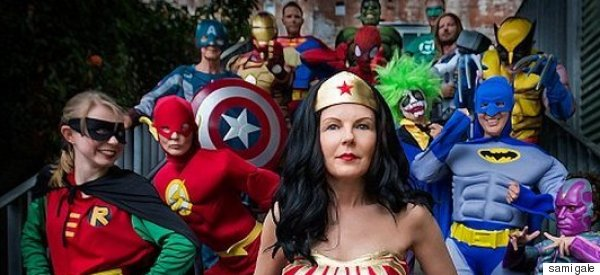 Cancer Patient Dresses As Wonder Woman For Last Day Of Chemo