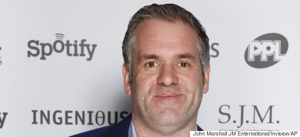 Here's What Happens When Chris Moyles Gets Hit With A Drink At A Gig