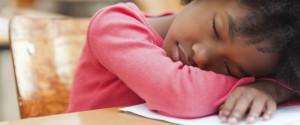 Estudante Dorme Sala