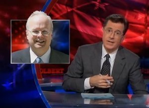 Colbert Apologizes Karl Rove