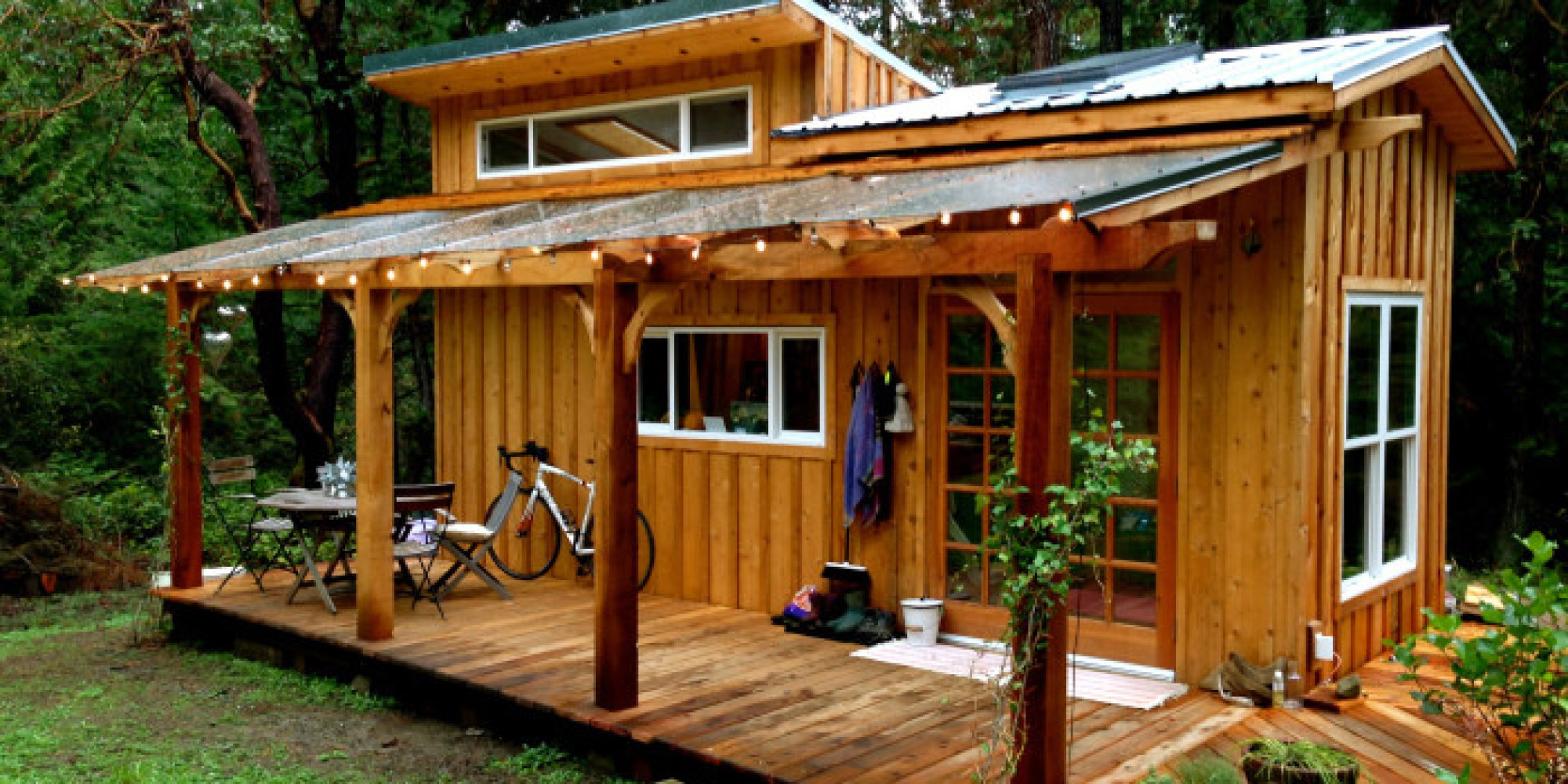 This Enchanting Tiny House On Salt Spring Island Can Be Quite The