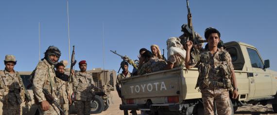 YEMENI PRESIDENT ABED RABBO MANSOUR HADI FORCES