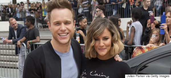 Olly And Caroline 'Face Phone Ban' From 'X Factor' Bosses