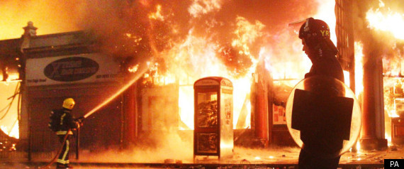 LONDON RIOTS COULD HAPPEN AGAIN