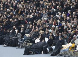Les victimes du 13 novembre et leurs proches reçus par les juges