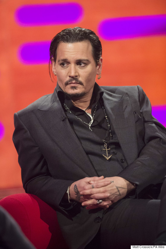 johnny depp graham norton