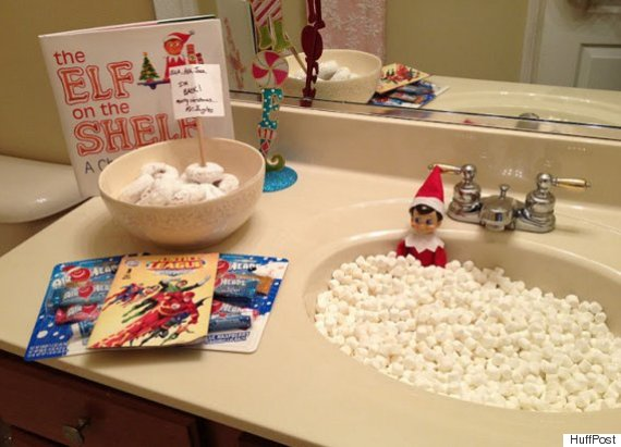 What Is Elf On The Shelf? 15 Ideas For The First Day Arrival ...