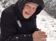 Beautiful Footage Of 101-Year-Old Playing In The Snow Will Melt Your Heart