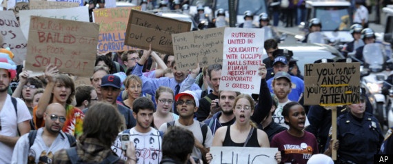 LIVE UPDATES OCCUPY WALL STREET