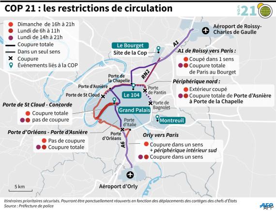 Cop21 sauf n cessit vitez d 39 utiliser les transports - Prefecture de police porte de clignancourt ...