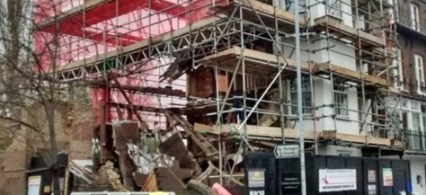 Singer's Former Six-Bedroom Townhouse Collapses In London