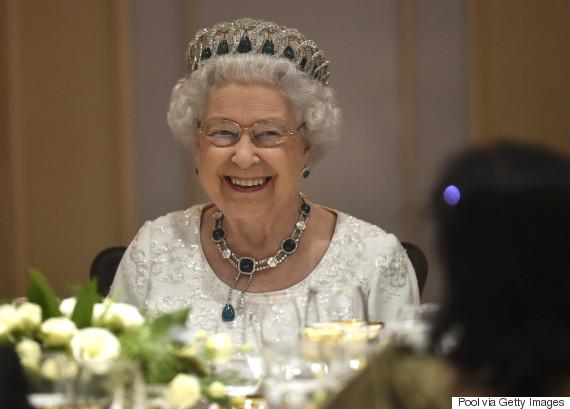 justin trudeau queen toast