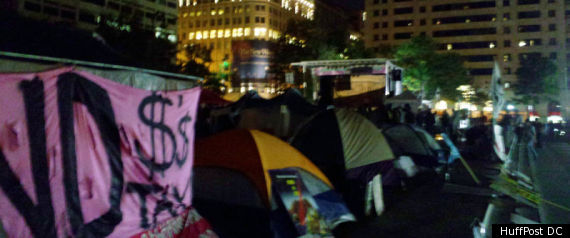 Freedom Plaza Protest