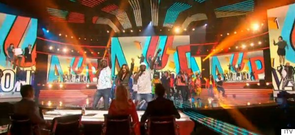 Reggie 'N' Bollie Get A Surprise Guest On 'X Factor'