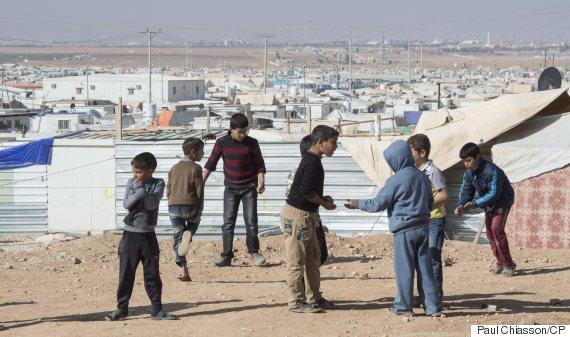 refugee camp jordan