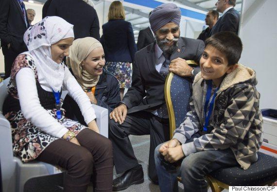 harjit sajjan refugees