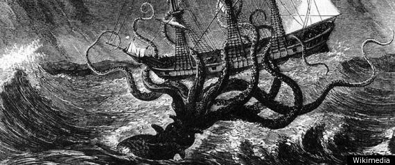 Giant Kraken Lair Discovered: Sea Monster May Have Preyed On ...