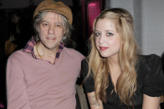 Bob Geldof with his late daughter Peaches | Pic: PA