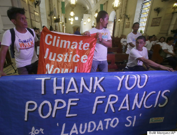 church climate change