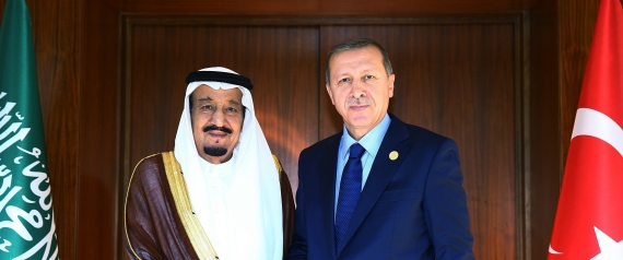 KING SALMAN AND ERDOGAN