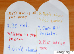 This Is What Happens When You Ask An 11-Year-Old What The Ten Commandments Are