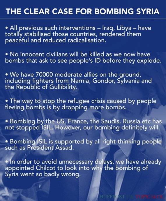 case for bombing syria isis
