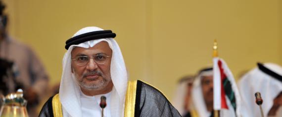 ANWAR GARGASH UAE FOREIGN MINISTER