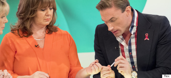Dr Christian Explains Why He Didn't Wear Gloves For 'Loose Women' HIV Test