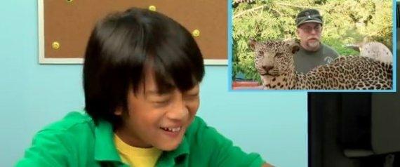 KIDS REACT TO CHUCK TESTA