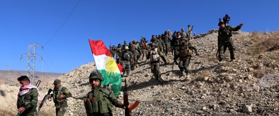 FIGHTERS KURDS IN SYRIA