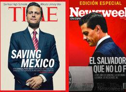 Peña Nieto: Del 'Saving México' al 'salvador que no fue'