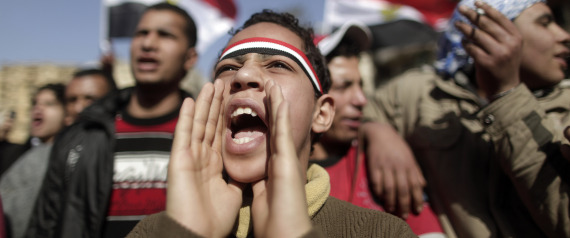 EGYPT TAHRIR SQUARE YOUTH