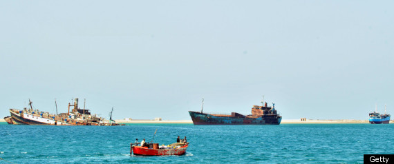 Somalia Pirates Italian Ship